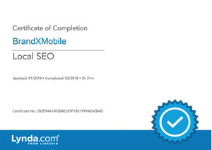 Local SEO Certificate