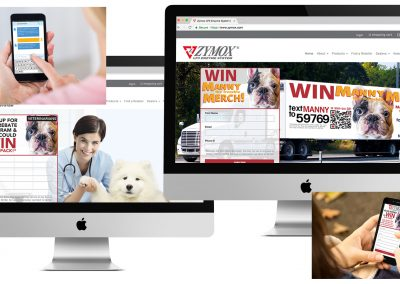 Zymox Web Mobile Promo